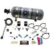 Nitrous Express 20115-12 Ford Efi Dual Nozzle 100-300hp With Composite Bottle