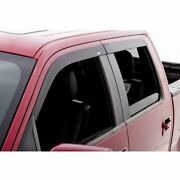 4 Window Vent Visors 2020-2021 Sierra 1500 Extended Double Cab Wind Deflector
