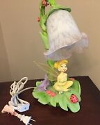 Tinkerbell Lamp Disney Fairy Includes Wings