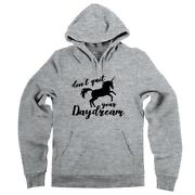 Donand039t Quit Your Daydream Unicorn Graphic Tee Hoodie Dreamer Inspirational