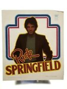 Vintage Iron On T-shirt Transfer Rick Springfield 1980s Rock Star And Actor