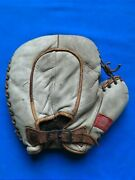 Awesome Antique 1920s Spalding Basemitt Great Patch Ex Cond Vintage Glove Rare