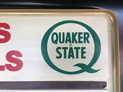 Motor Oil Sign Quaker State Special Sign 1960-70s Change Copy To Anything