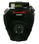 23hp Kawasaki Engine 1-1/8dx3.94l Oil Filter And Cooler 15 Amp Fh680d-s08-s