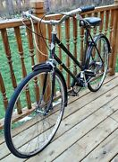 Vintage Dunelt Bicycle Made In England Hipster Rare Bike Old School 3 Speed