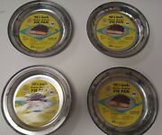Vintage Betty Best G And S Products 10 1/4 Inch Pie Pans - Lot Of 4 - Brand New