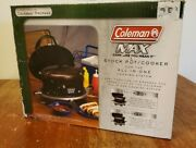 New In Box Coleman Max Stock Pot Cooker For The All In One Cooking System 6 Qrt