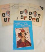 Lot Of 5 Madame Alexander Price Guides And A.glenn Mandeville Dolls Value Guide