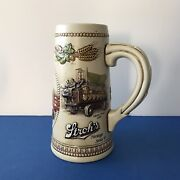 Strohs Beer Stein Ceramarte Brazil Limited Edition Awesome Rare Mug Handcrafted