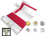 2017 Classic Canadian Coin Set - Uncirculated P-l Mint Set Of Coins 17969