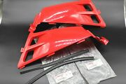 New Vitoand039s Yamaha Banshee Gas Tank Side Covers Plastic Wrap 1987 Light Red