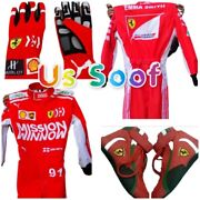 Go Kart Race Suite Mission Winnow Cik/fia Level 2 With Shoes Gloves And Gift
