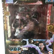 One Piece Luffy Gear 4 Bound Man Figure Portrait.of.pirates Megahouse Anime