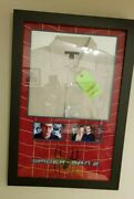 Unique Peter Parker Tobey Maguire Screen Used Spiderman 2 - Shirt Display Coa