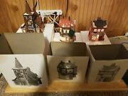 Dept. 56 Heritage Village Dickens Village Series 3 Different Onesboxes And Cords