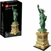 Lego Architecture Statue Of Liberty 21042 [building Kit 1685 Pieces Age 16+] New