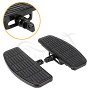 Pair Motorcycle Footboards Floorboards For Yamaha V Star 650 950 1100 1300 Us