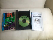 Iron Helix Sega Cd 1994 Case/manual Front Page Has Been Removed.