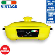 Electric Non Stick Cooking Pot Frying Pan Slow Cook Hotpot Bbq Grill Not Morphy