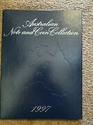1997 Npa Note And Coin Collection Portfolio Of 5 Notes With Matched Zz97 Serials