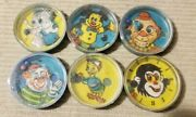 Lot Of 6 Vintage 1960s Handheld - Ball In Hole Dexterity Skill Games Hong Kong