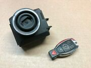 2012-2014 Mercedes Slk250 R172 Ignition Switch With 3 Button Key 2129056801 Oem