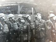 Ww2 Home Guard Parade Review Senior Woman Officer Army Photograph Royalty