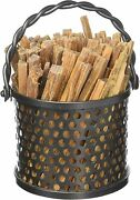 Minuteman International Twisted Rope Fatwood Caddy Graphite New