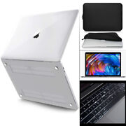 Crystal See Thru Hard Case Cover For Macbook Pro 13 M1 A2338 Air 13 M1 A2337