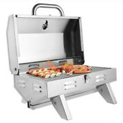 Outdoor Tabletop Stainless Steel Propane Gas Grill Portable Burner Bbq Grill Us
