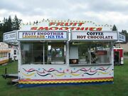 2004 - 8.5and039 X 16and039 Caravan Ultd. Cutter Series Food Concession Trailer For Sale I