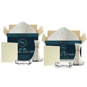 Natural Soy Wax And Candle Making Supplies Wicks Glue Dots And Centering Devices