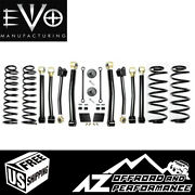 Evo Mfg 2.5 Enforcer Stage 4 For And03918-and03921 Jeep Wrangler Jl Jlu Evo-3011s4