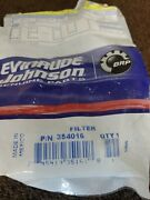 Evinrude Johnson Omc 2 354016 Fuel Filters Oem New Factory Parts
