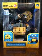 Disney Pixar Thinkway Toys Wall-e U-command Rc Robot Infrared Remote Control New