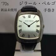 Girard-perregaux 70and039s Antique Wristwatch Hand-winding F/s From Japan