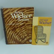 Two Antique Wicker Furniture Reference Books By Collector Books Great Reference