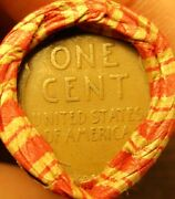 Lincoln Wheat Penny Roll Capped With 1909 Vdb And Ih Cent 50 Coins 1 Roll