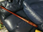 1954 Hall Of Fame Hillerich And Bradsby Baseball Bat Limited Ed Dickey Terry