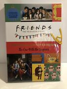 Friends The Official Advent Calendar The One With The Surprises Tv Hardcover New