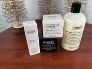 Philosophy 4 Pc Set Anti-wrinkle Miracle Worker Day And Night And Eye Cream Purity