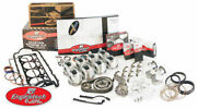Small Block Fits Chevy 350 5.7 1967 - 1985 Engine Rebuild Kit Flat-top Pistons