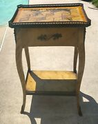 Theodore Alexander 5002-013 End Lamp Accent Table Vintage Vgc See Info