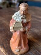 """Anri Kuolt Wood Carving King Melchior Italy 2"""""""