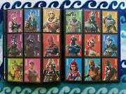 Entire Fortnite Cards Panini Completed All 300 Legendary Epic Base Black Knight