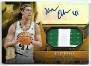 Kelly Olynyk 2013 Panini Spectra Rookie Auto Autograph Gold Patch Card 10/10