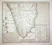 India Indien South Asia Asien Map Karte Engraving Kupferstich Chatelain 1720