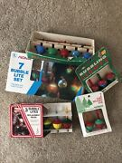 Vintage Xmas Lot Of 20 Replacement Bubble Lites Christmas Lights Noma Paramount