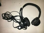 Logitech Gaming Headset A-0009 Usb Pc Computer Used Overhead