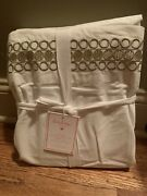 Pottery Barn Teen Lilly Pulitzer Embroidered Trim Sheet Set Twin Gold Sold Out